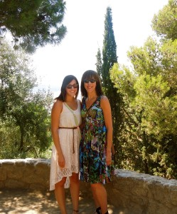 My daughter, Kara, and I